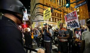 В американском Фергюсоне продолжаются акции протеста