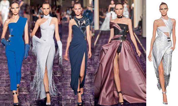 Вечерние платья в дизайнерских коллекциях сезона 2014/15