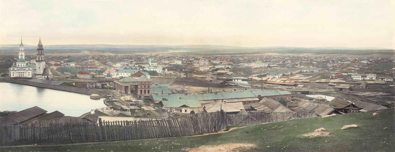 Невьянск. Фото из альбома видов Уральской Горнозаводской железной дороги.