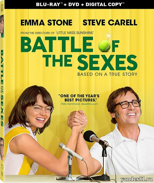 Битва полов / Battle of the Sexes (2017/BDRip/HDRip)