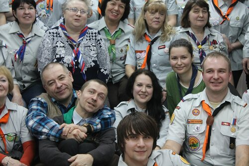 Калининградской городской детско-молодежной организации скаутов «Медведь» 20 лет!