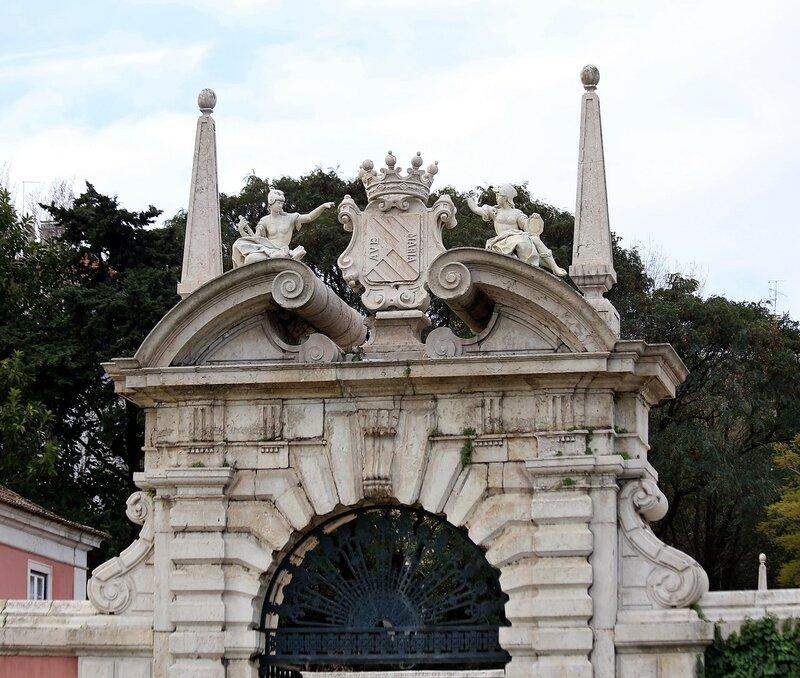 Lisbon. Square of Spain (Praça de Espanha)