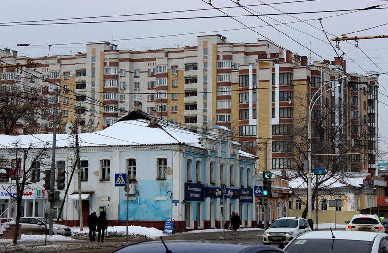 На улице Советской. Фото 17 января 2015 года