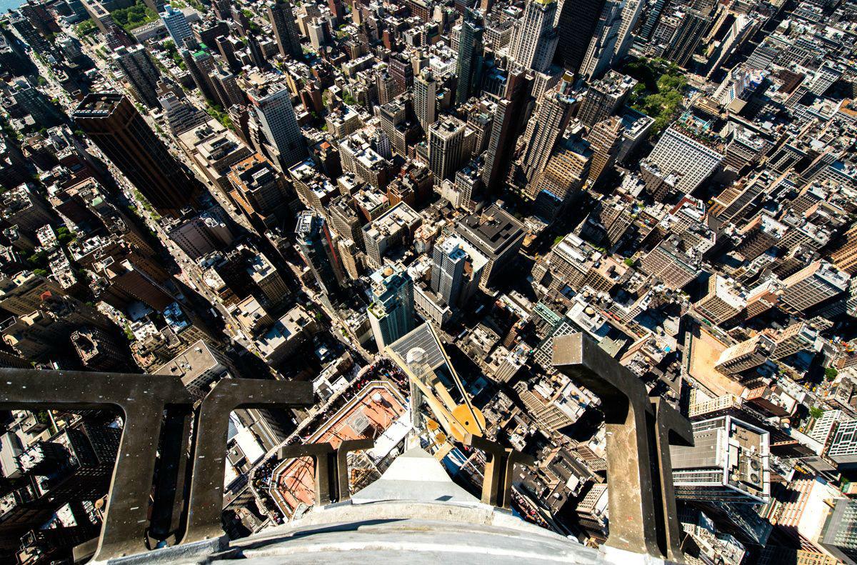 22. Вид со 103-го этажа Эмпайр-стейт-билдинг. , Жизнь на улицах Нью-Йорка в объективе iPhone