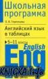 Книга Английский язык в таблицах. 5-11 классы