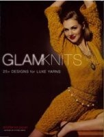 Книга Glam Knits: 25 Designs For Luxe Yarns pdf 55,2Мб