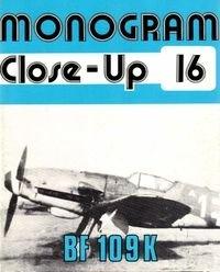 Книга Bf 109 K (Monogram Close-Up 16)