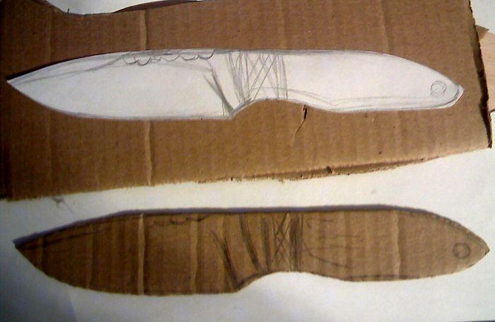 создание ножей маори
