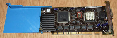 Видеокарта для интерфейса MCA