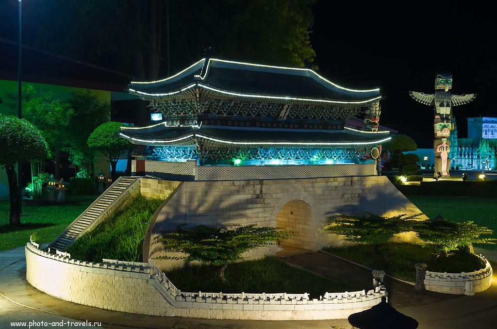 """17. Кто знает, как называется этот корейский храм? Отчет об экскурсии в парк """"Мини Сиам"""". Конечно, это не ботанический сад Нонг Нуч и не парк Миллионолетних камней, но тоже интересная достопримечательность Паттайи. Самостоятельный отдых в Таиланде."""