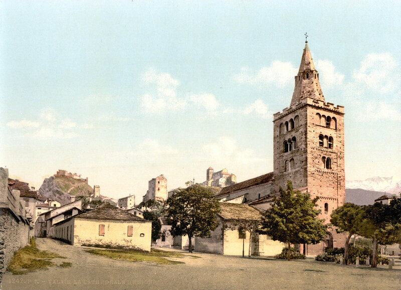 4. Сьон, Кафедральный собор