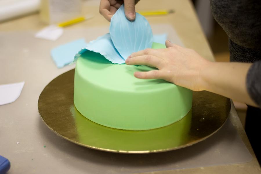 украшение торта курсы