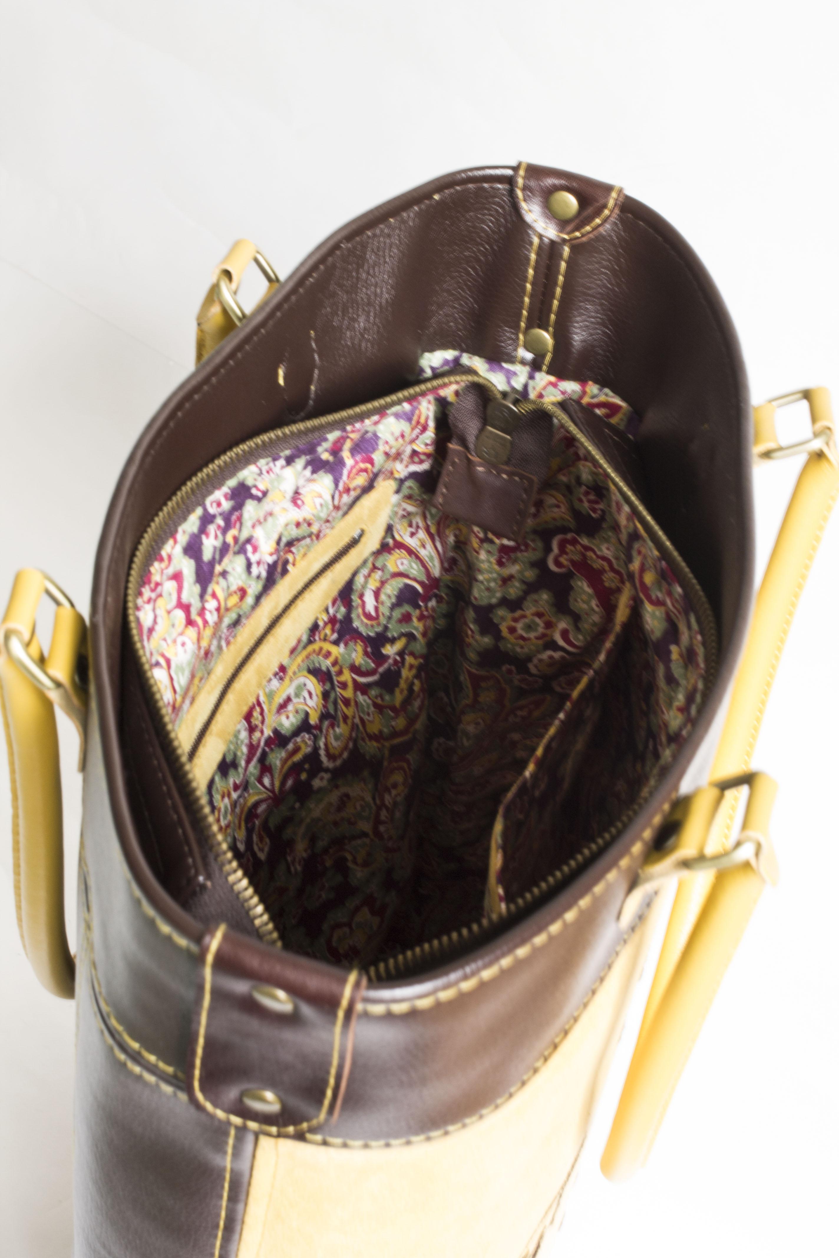 сумка с качественной подкладкой