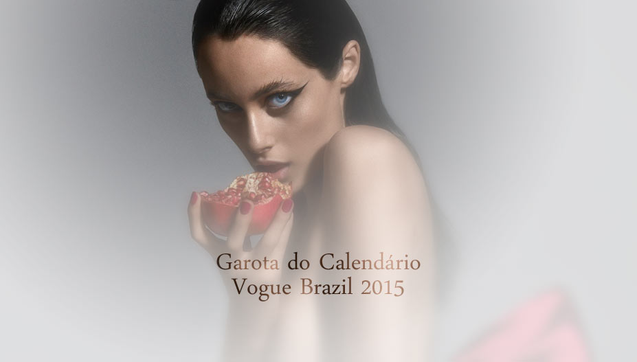 Календарь журнала Vogue Brazil 2015 / Calendar Girl by Zee Nunes