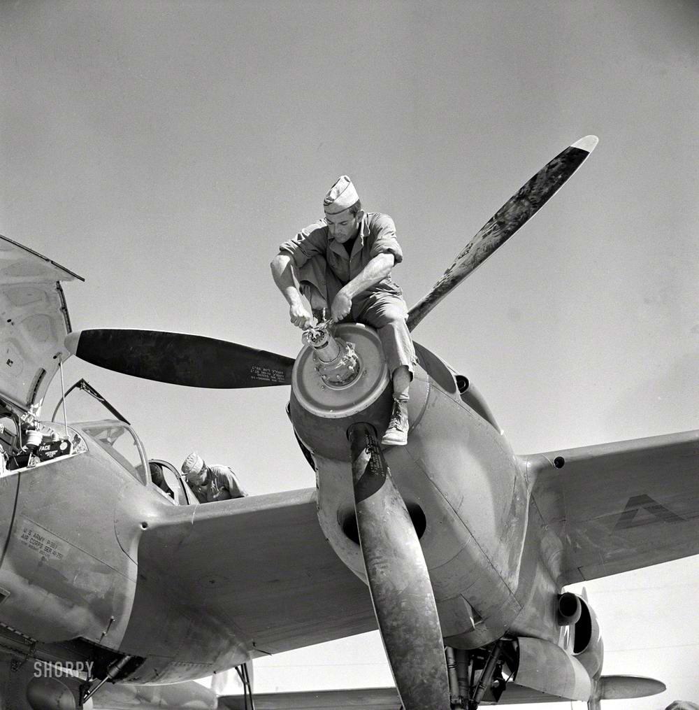 Самолеты и пилоты начала 20-го века на снимках американских фотографов (52)