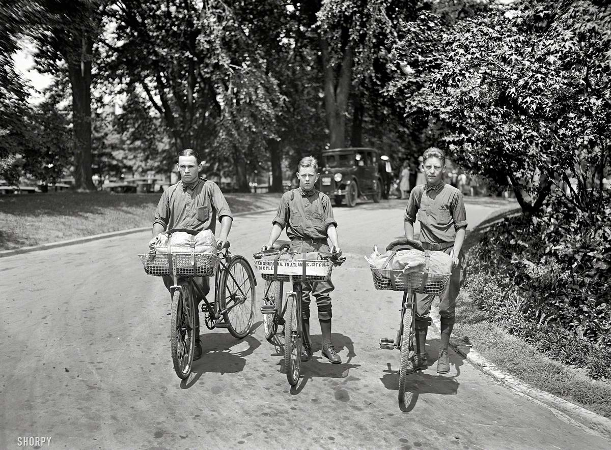 Американские бойскауты начала 20-го века на снимках фотографов (24)