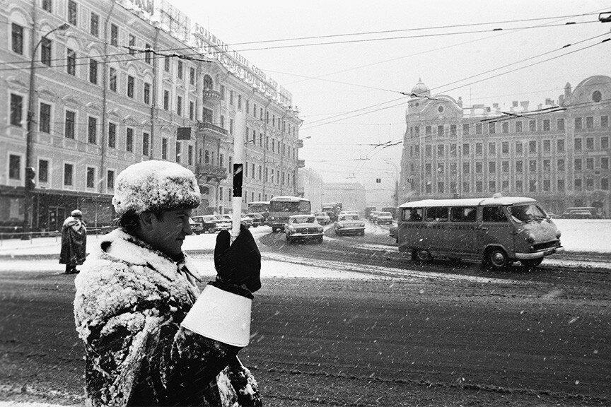 415437 Снеговик-Гаишник Юрий Абрамочкин 1972