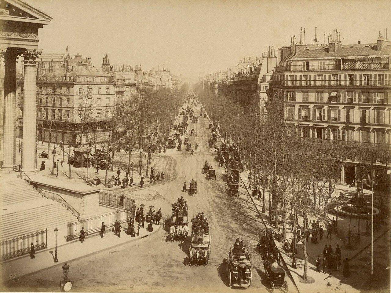 1880-е. Бульвар Мадлен