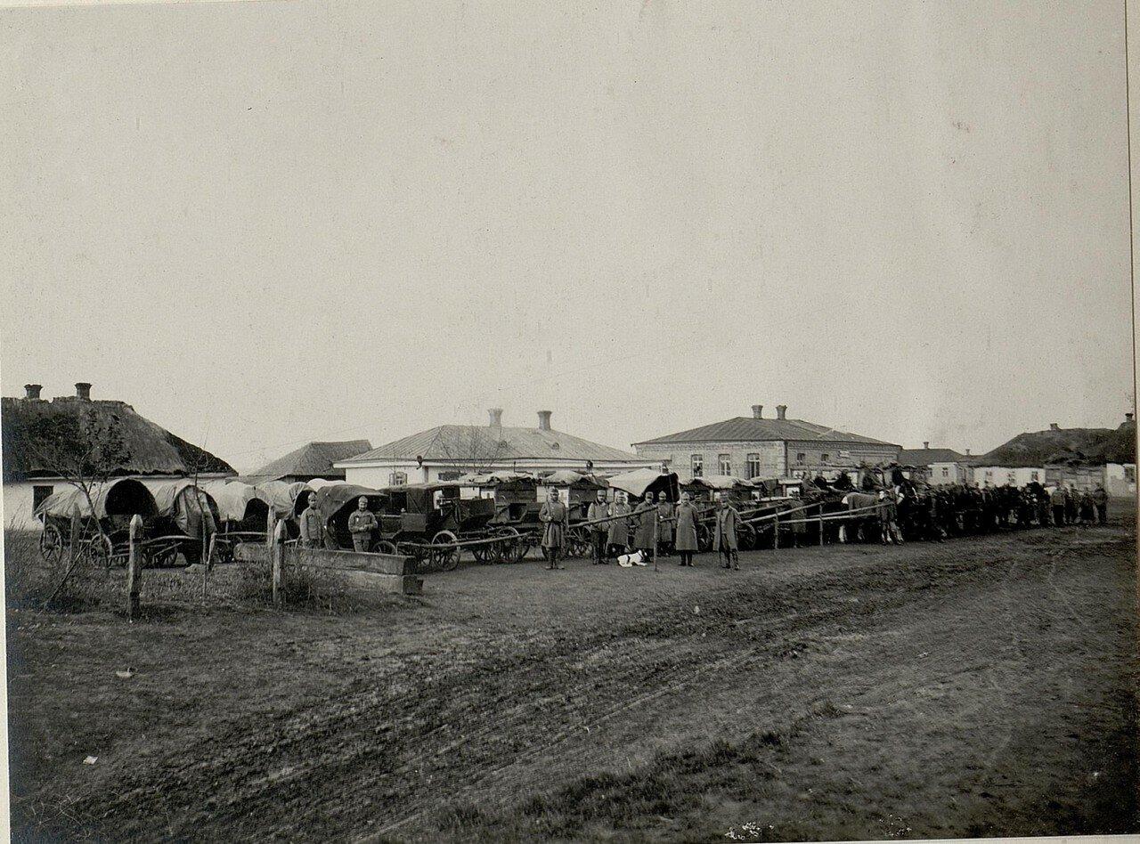 Острожец. Полевой госпиталь. 28 ноября 1915