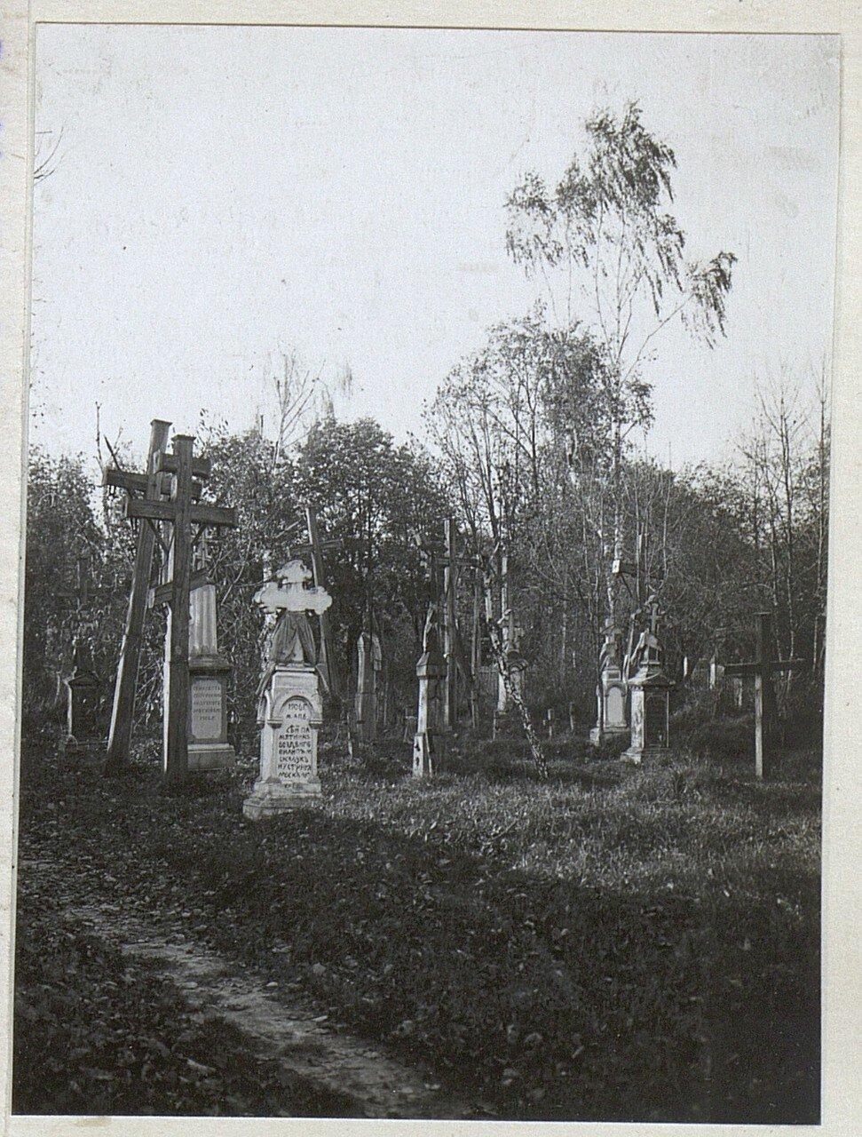 Части католического и русского кладбищ