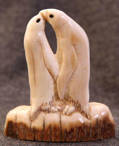 Скульптура Пингвины-встреча