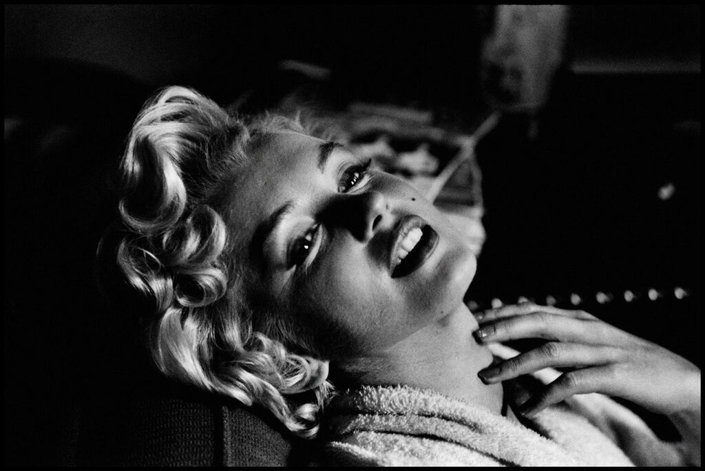 USA. New York. American actress Marilyn MONROE. 1956.jpg