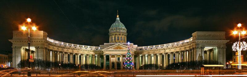 Казанский собор. Санкт-Петербург.