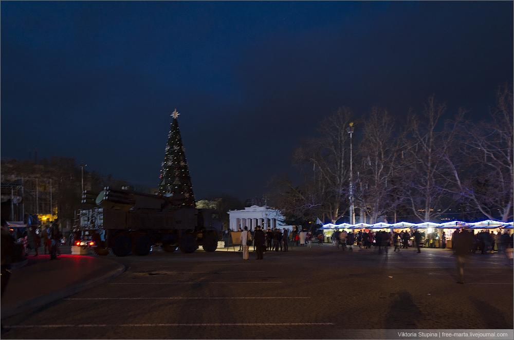 Севастополь, Новый Год 2015