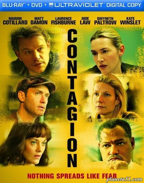 Заражение / Contagion (2011/BDRip/HDRip) + AVC