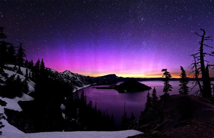 Красивые фотографии полярного сияния 0 10d60f a2fbf475 orig