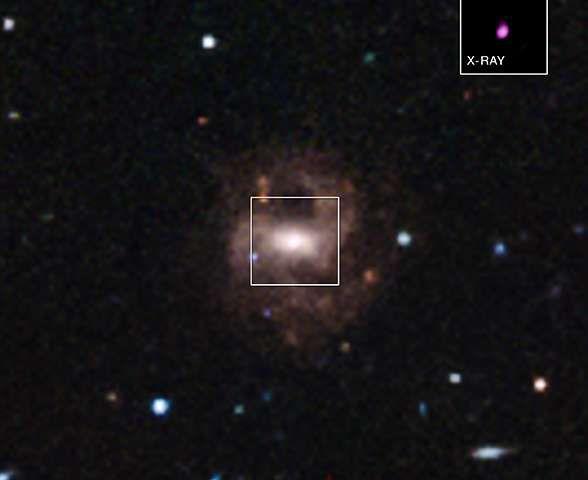 Астрофизики нашли нового претендента на титул самой'крошечной черной дыры