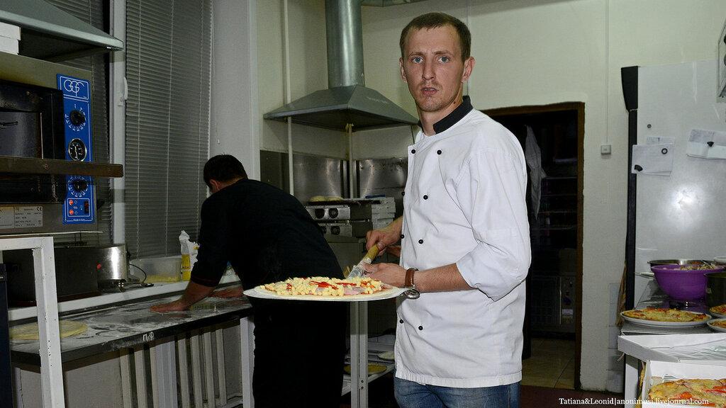 Кафе Сели и съели. Пиццы на выпускной