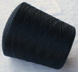 926 Шёлк 100% Тёмный графит с меланжем и благородным блеском.JPG