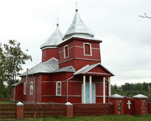 Храм Усекновения главы Иоанна Предтечи пос. Бродайжи