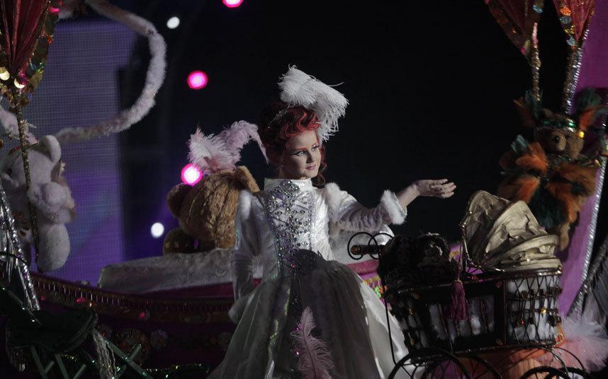 Участники Санта-Крус карнавала