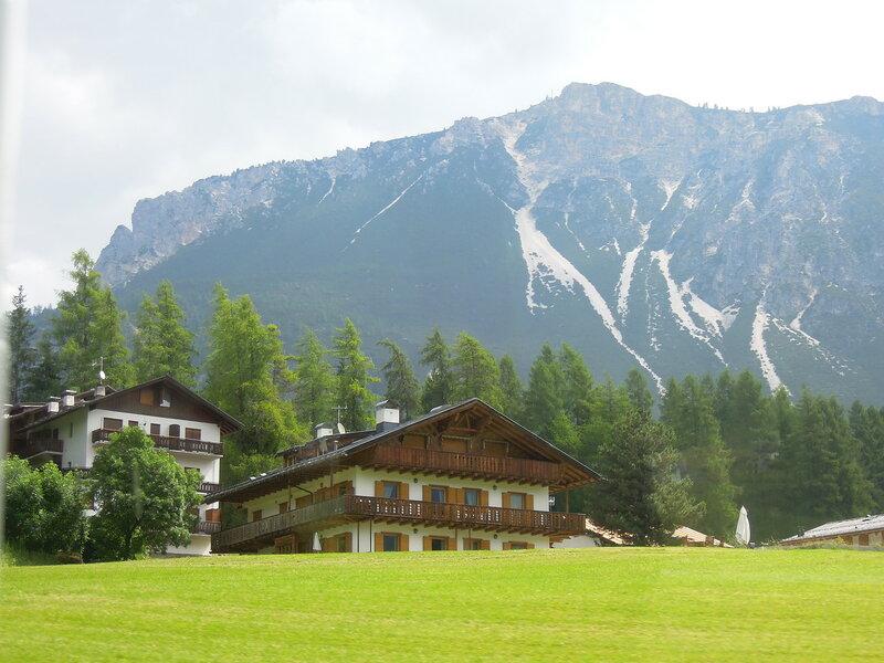 Италия, Доломитовые Альпы