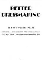 Журнал Better dressmaking pdf 74Мб