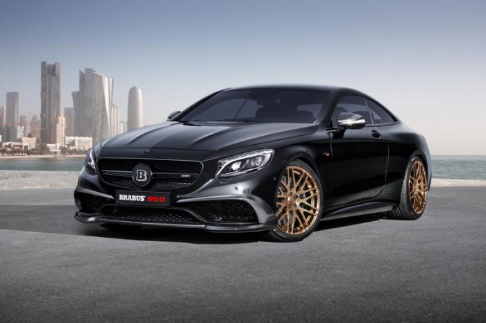 Mercedes-Benz 850 Coupe от ателье Brabus