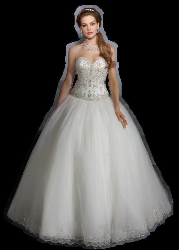 Свадебные платья png
