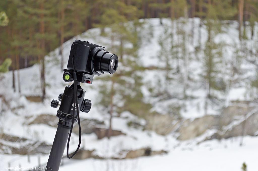 Фото 1. Продвинутая мыльница Sony Cyber-shot DSC-HX50. Будем сравнивать ее с зеркалкой Nikon D5100 KIT 18-55