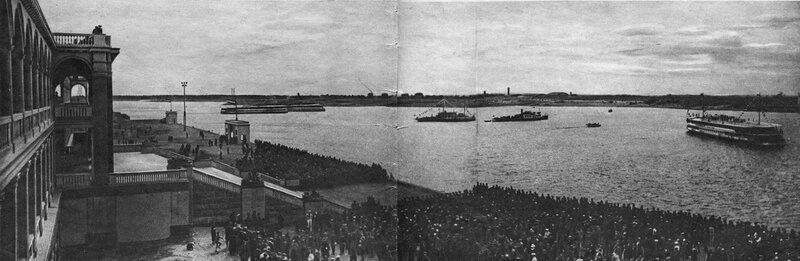 45 2 мая 1937 Речной вокзал. Журнал 'Мурзилка' 1937 №06 (июнь).jpg