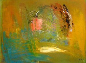 Колотвин Валерий Триптих. Новокузнецк, осень. Октябрь. 1994. 56 х 71,3. Картон, акрил.jpg