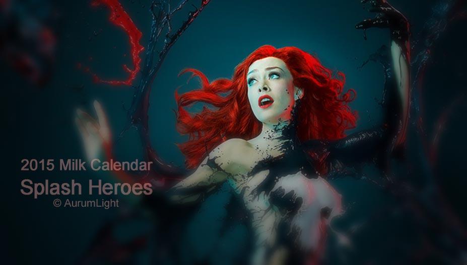 Milk Calendar 2015 - Splash Heroes