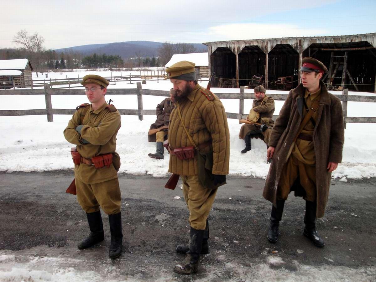 Солдаты Советской Армии в британских реконструкциях сражений 2-й мировой войны (5)