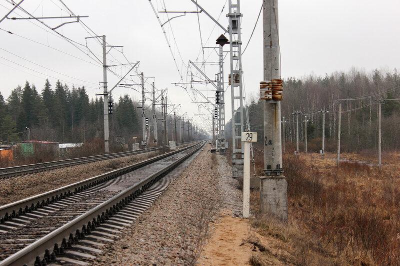 Перегон Новолисино - Стекольный