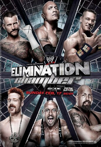 Post image of WWE Elimination Chamber 2013