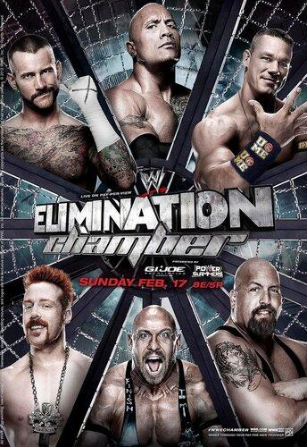 Post image of [Постеры]: Elimination Chamber 2013