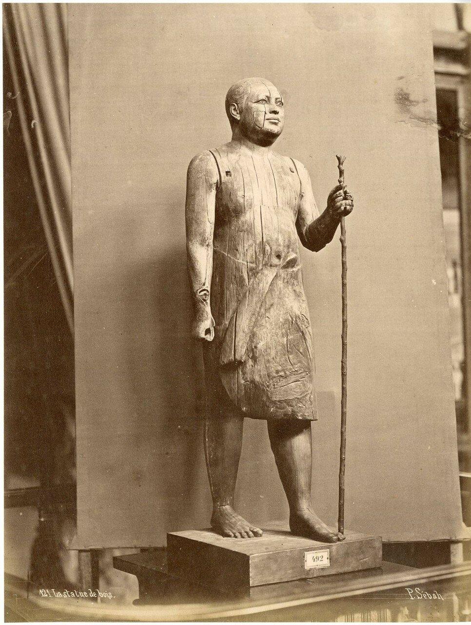 Музей Гизы. Деревянная статуя.1880-е
