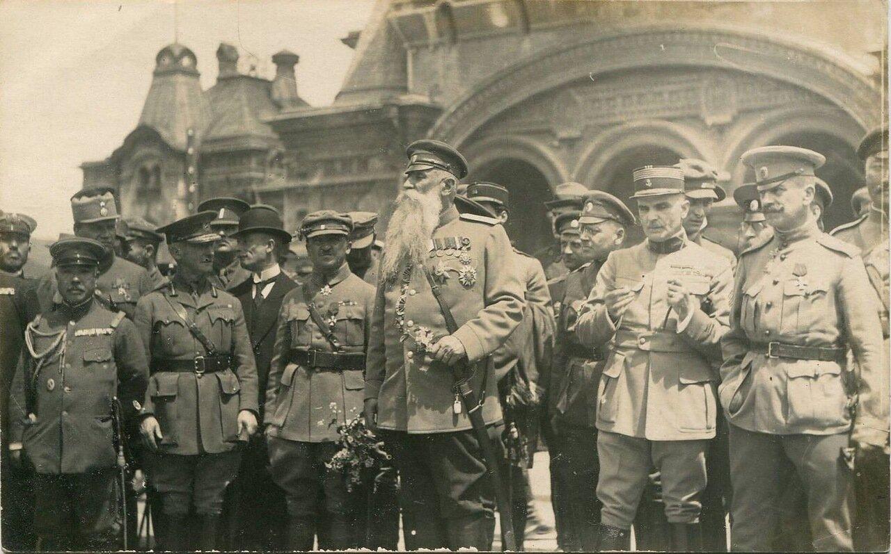 Генерал Хорват во Владивостоке. 1918