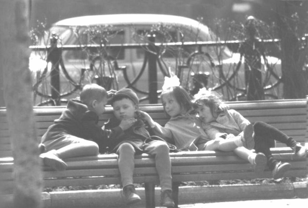 1960-е. Скамейка